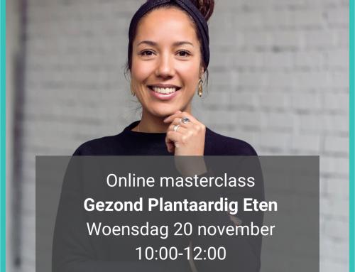 Online Masterclass Gezond Plantaardig Eten
